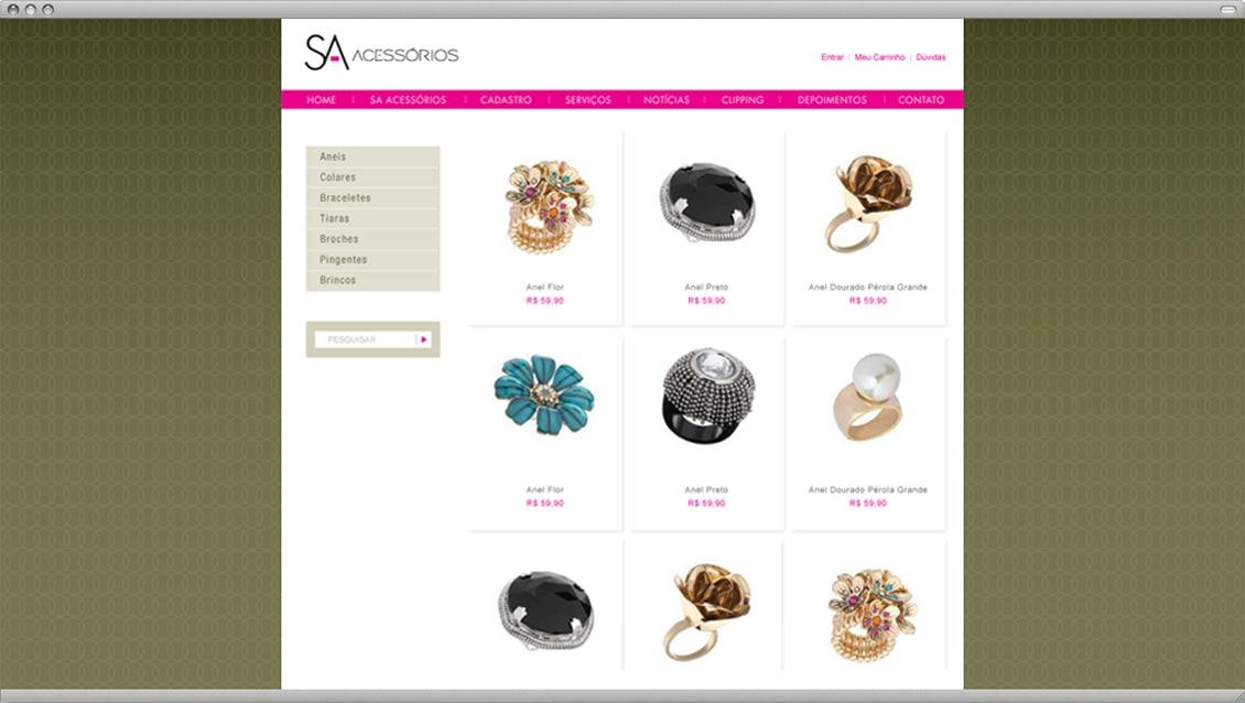 E-Commerce SA Acessórios